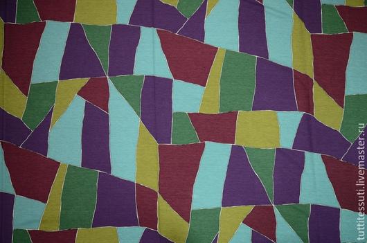 Шитье ручной работы. Ярмарка Мастеров - ручная работа. Купить Трикотаж 03-100-0032. Handmade. Разноцветный, эластан