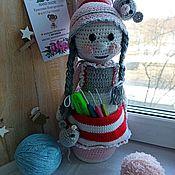 Мягкие игрушки ручной работы. Ярмарка Мастеров - ручная работа Кукла игольница. Handmade.