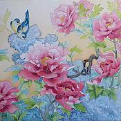 Картины и панно ручной работы. Ярмарка Мастеров - ручная работа Пионовая весна. Handmade.