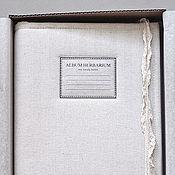 Альбом для гербария Молочный лён и розы (А4, для 40 растений)