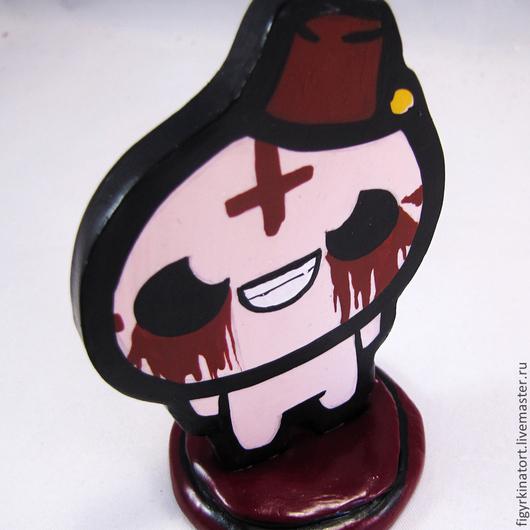 """Человечки ручной работы. Ярмарка Мастеров - ручная работа. Купить Фигурка из игры """"The Binding of Isaac"""" из полимерной глины. Handmade."""