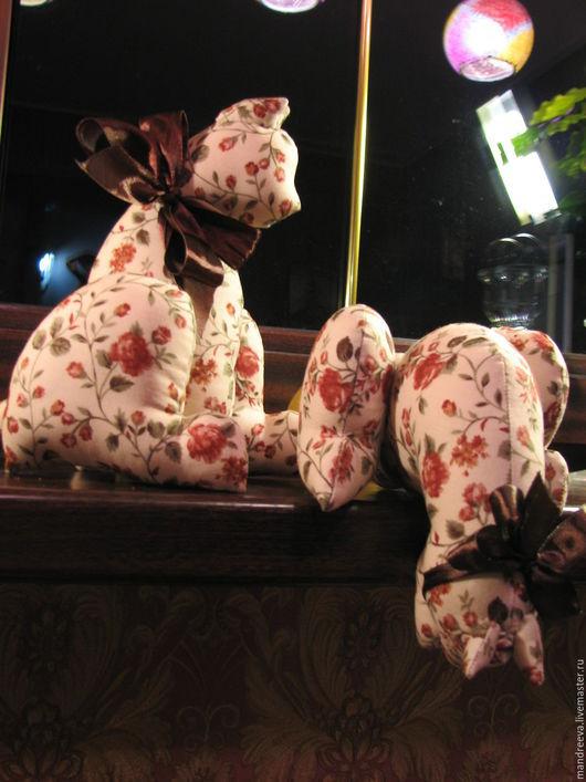 Игрушки животные, ручной работы. Ярмарка Мастеров - ручная работа. Купить Кошечки Настроение осень. Handmade. Коричневый, Кошки, котики