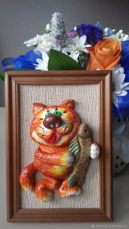 The cat Vasja, Figurines, Vyborg,  Фото №1