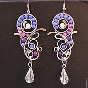 Украшения handmade. Livemaster - original item Earrings Stellar Wind. Handmade.
