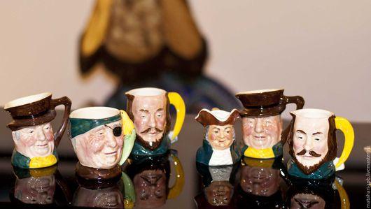 Винтажная посуда. Ярмарка Мастеров - ручная работа. Купить Старинный Тобби Англия. Handmade. Комбинированный, купить кружку винтаж