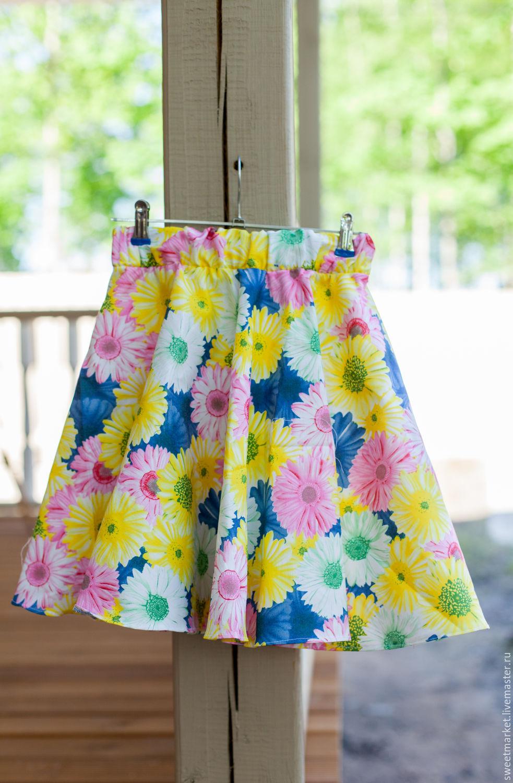 Купить летнюю юбку на резинке