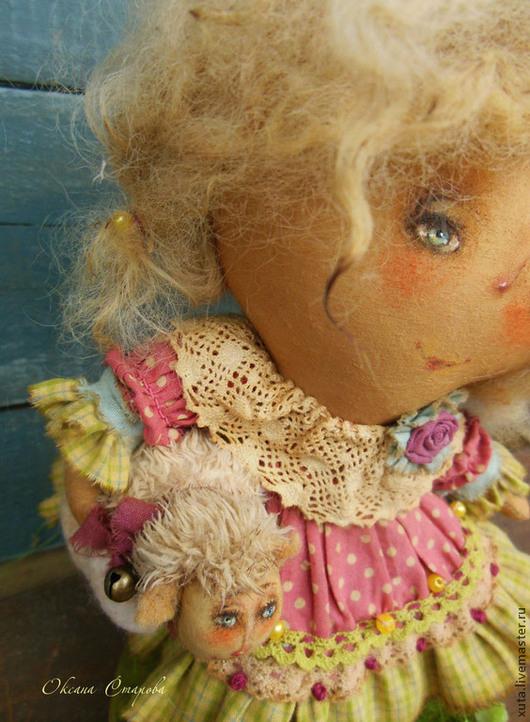 Ароматизированные куклы ручной работы. Ярмарка Мастеров - ручная работа. Купить Белые кудряшки.... Handmade. Салатовый, подарок, кружево
