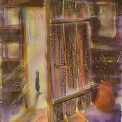 """Картины и панно ручной работы. Ярмарка Мастеров - ручная работа Картина """"Старая дверь. Дом художника"""". Handmade."""