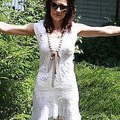 Одежда ручной работы. Ярмарка Мастеров - ручная работа Платье White lace. Handmade.