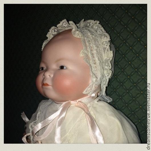 Винтажные куклы и игрушки. Ярмарка Мастеров - ручная работа. Купить Джейн c карими глазками - антикварный реборн 1925г.. Handmade.