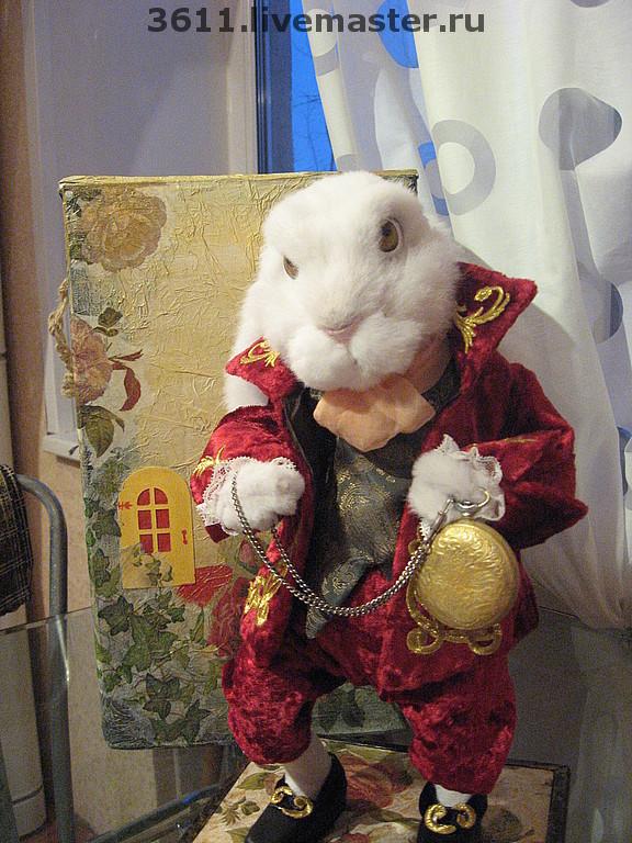 Кролик из алисы в стране чудес своими руками 186