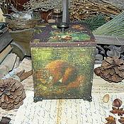 """Для дома и интерьера ручной работы. Ярмарка Мастеров - ручная работа """"Forest beauty"""" - короб-орешница. Handmade."""