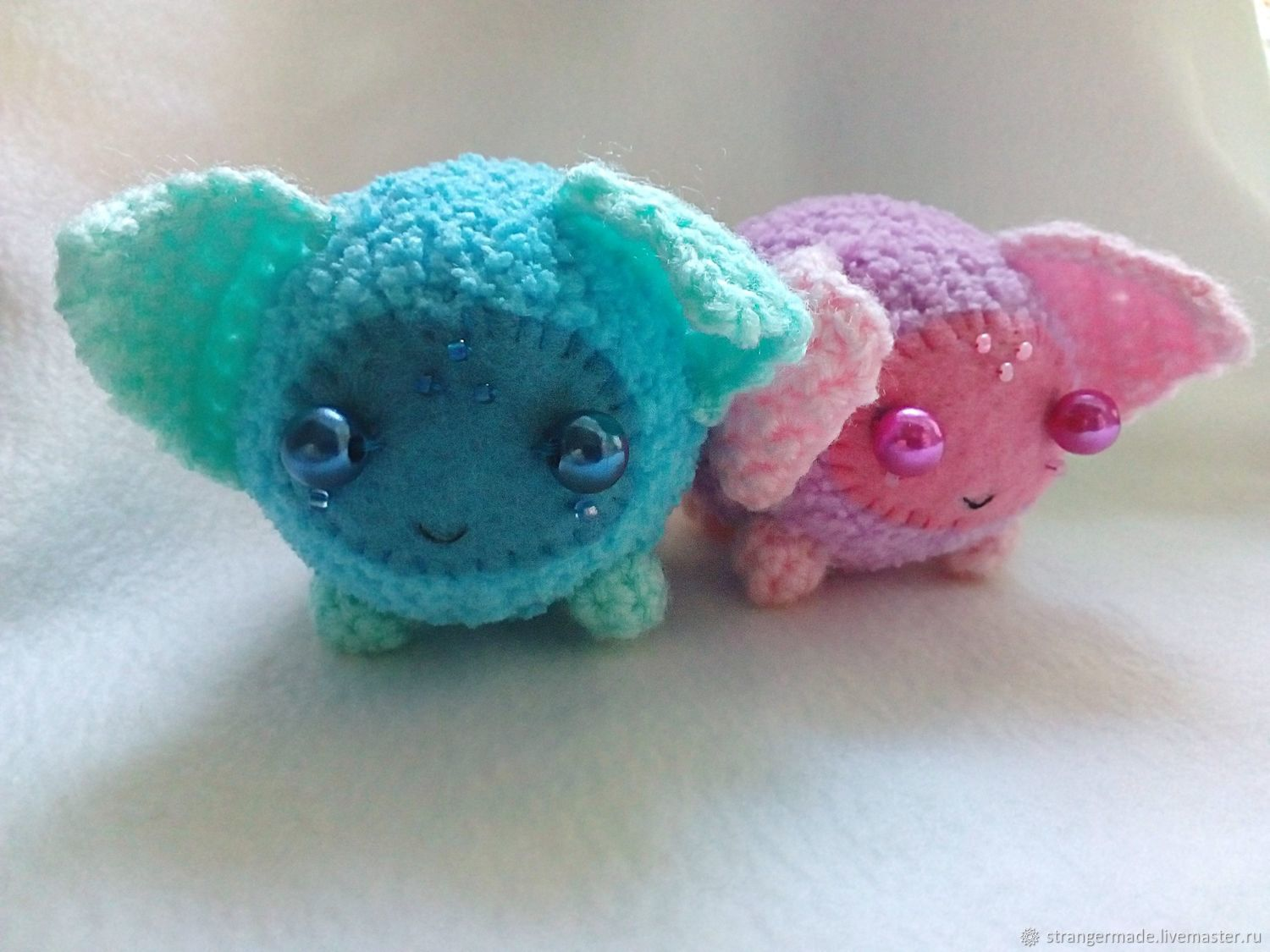 Zhi and Shi cute couple amigurumi monsters, Fun, Ekaterinburg,  Фото №1