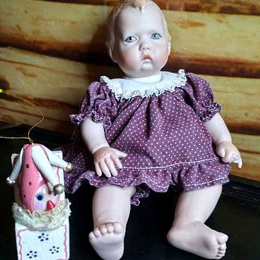 Винтаж ручной работы. Ярмарка Мастеров - ручная работа Фарфоровая кукла Мэри от Linda Steele. 1987 год. Под реставрацию. Handmade.