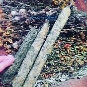 Фен-шуй и эзотерика ручной работы. Ярмарка Мастеров - ручная работа Ведьмины свечи Очищение. Handmade.