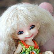 Куклы и игрушки ручной работы. Ярмарка Мастеров - ручная работа Паричок для RealPuki девочки. Handmade.