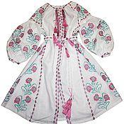 Одежда ручной работы. Ярмарка Мастеров - ручная работа Вышитая бохо одежда Украинское вышитое платье  Украинская одежд. Handmade.