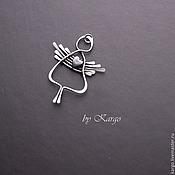 Украшения ручной работы. Ярмарка Мастеров - ручная работа Ангел (серебро). Handmade.