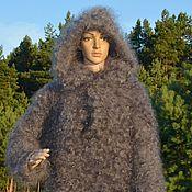 Одежда handmade. Livemaster - original item Coverall Overalls Jumpsuit With Hood Longhair 100% Goat Down  WOOL. Handmade.