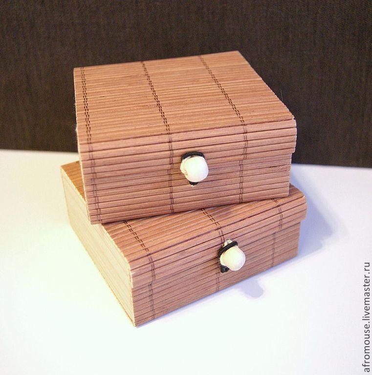 Легкая коробочка сделана
