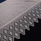 Винтаж ручной работы. Ярмарка Мастеров - ручная работа Подзор 4, на ткани, утраты, 186 см. Handmade.