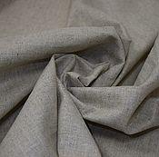Материалы для творчества ручной работы. Ярмарка Мастеров - ручная работа Ткань лен полулен натурального цвета плотный 150см. Handmade.
