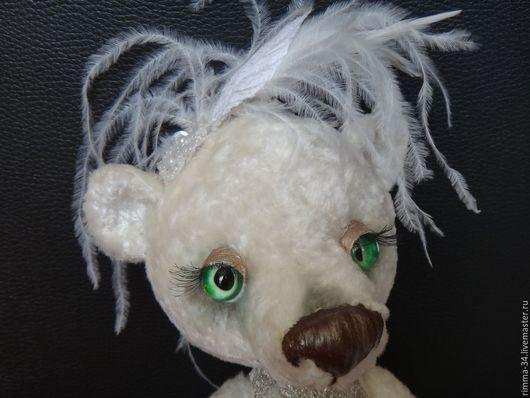 Мишки Тедди ручной работы. Ярмарка Мастеров - ручная работа. Купить Хочу в балет. Handmade. Плюшевый мишка, реснички