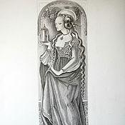 Картины и панно ручной работы. Ярмарка Мастеров - ручная работа Мария Магдалина. Handmade.