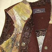 """Одежда ручной работы. Ярмарка Мастеров - ручная работа Жилет """"Колдунья"""". Handmade."""
