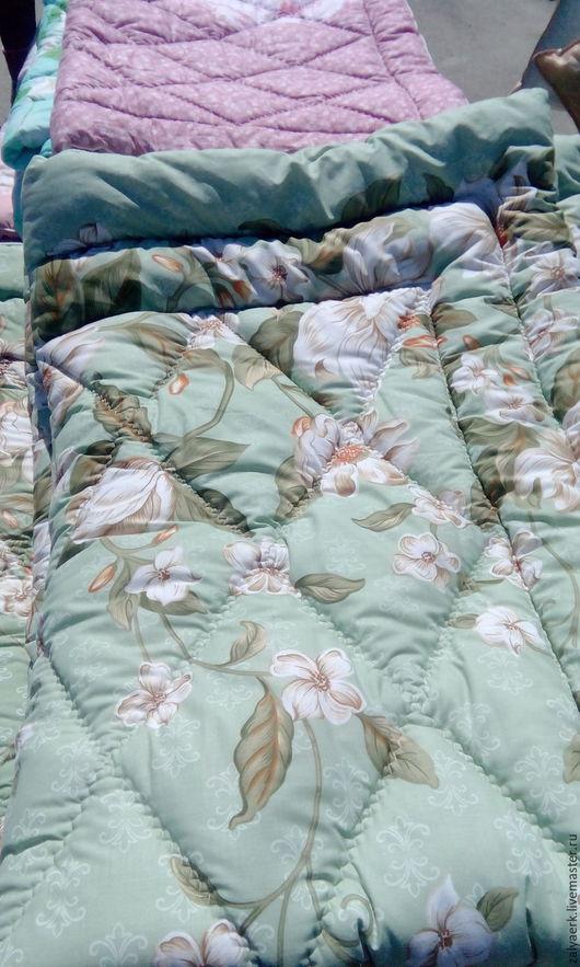 Шерстяное стеганое одеяло,ткань хлопок Цена за 150/220см - 2500руб