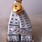 """Посуда ручной работы. Ярмарка Мастеров - ручная работа Набор для специй """"Башня & багет"""". Handmade."""