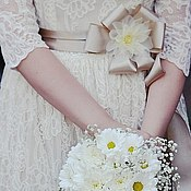 Свадебный салон handmade. Livemaster - original item Wedding dress for Catherine. Handmade.