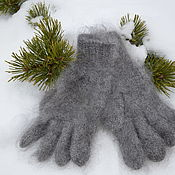 Аксессуары handmade. Livemaster - original item gloves men`s down. Handmade.