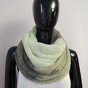 Аксессуары handmade. Livemaster - original item Snood knitted from kid-mohair. Handmade.