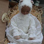 Куклы и игрушки ручной работы. Ярмарка Мастеров - ручная работа Тедди долл мишка большая. Handmade.
