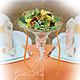 Свадебные цветы ручной работы. Заказать Оформление свадьбы цветами. Ксения. Ярмарка Мастеров. Свадебная флористика, композиции в мартинках