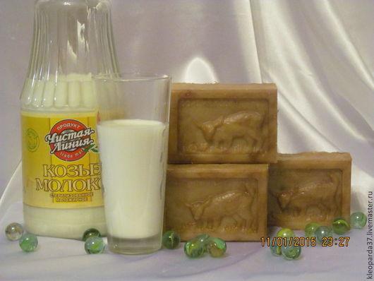 """Мыло ручной работы. Ярмарка Мастеров - ручная работа. Купить Мыло """"с нуля"""" """"Топлёное молоко"""" (на козьем молоке)- ГС.. Handmade."""
