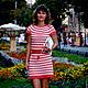 """Платья ручной работы. Заказать """"Каролина"""" (Ванесса Монторо). Михель Юлия (Yuliya03). Ярмарка Мастеров. Платье коктейльное, вязание на заказ"""