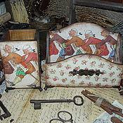 Для дома и интерьера ручной работы. Ярмарка Мастеров - ручная работа Набор для письменного стола. Handmade.