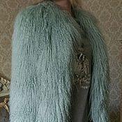 Одежда ручной работы. Ярмарка Мастеров - ручная работа Шубка из меха ламы. Handmade.