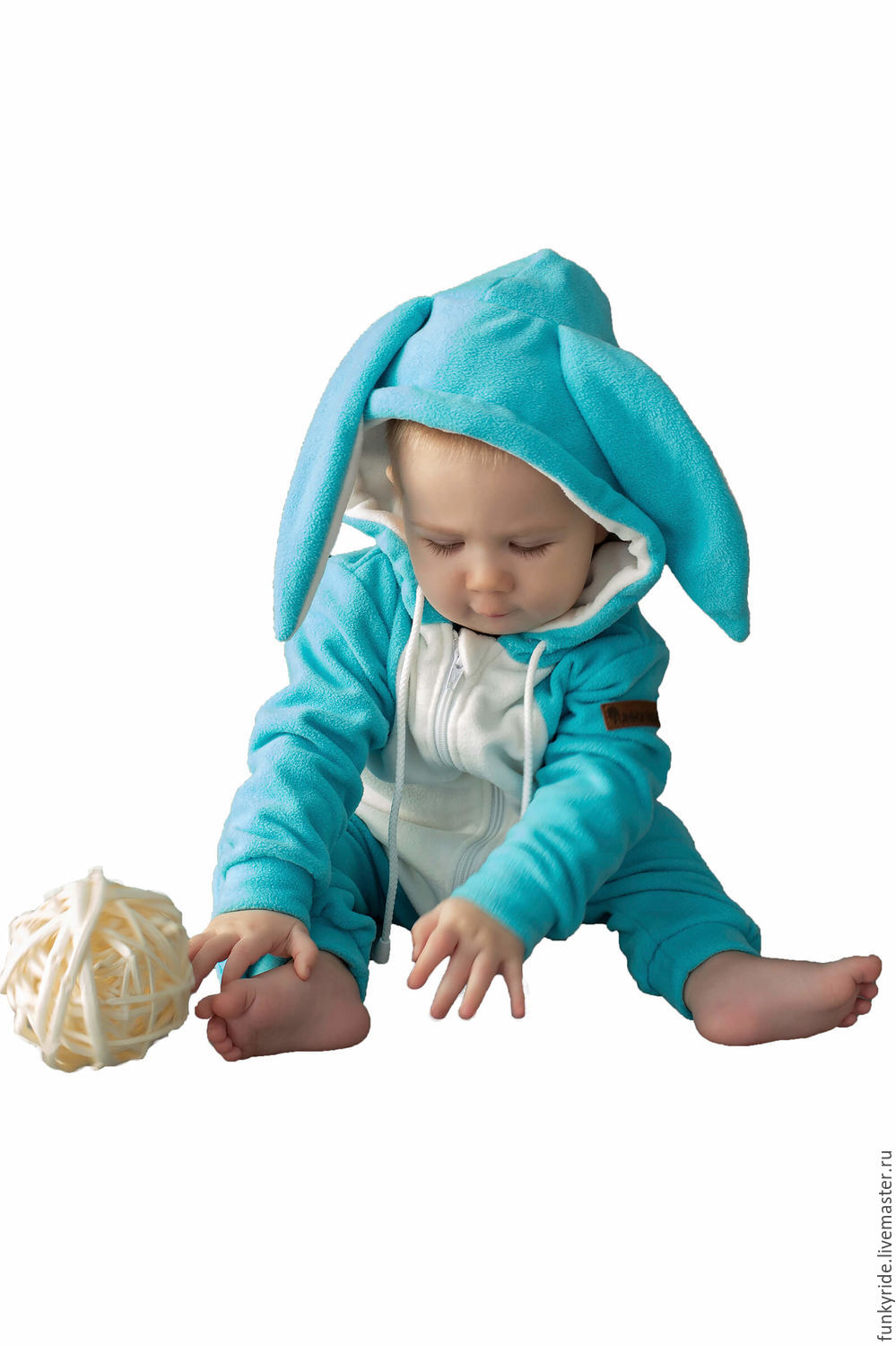 cf7452a89 Romper baby Bunny Snow SNOW BUNNY FUNKY HOME KIDS SUIT – shop online ...