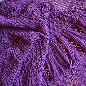 Аксессуары handmade. Livemaster - original item Lilac shawl. Handmade.