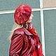 """Комплекты аксессуаров ручной работы. Ярмарка Мастеров - ручная работа. Купить Берет валяный """"Красная осень"""". Handmade. Валяный берет"""