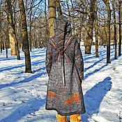 Одежда ручной работы. Ярмарка Мастеров - ручная работа Пальто валяное Путешествие в страну Fantasy. Handmade.