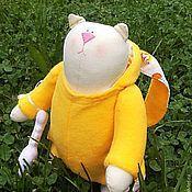 Куклы и игрушки ручной работы. Ярмарка Мастеров - ручная работа Кот Симон. Handmade.