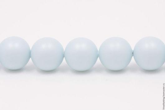 Фриволите. Анкарс. Купить жемчуг Сваровски 8 мм Pastel Blue жемчуг Swarovski, 5 шт.