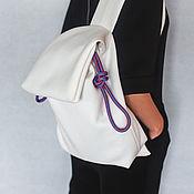 Сумки и аксессуары ручной работы. Ярмарка Мастеров - ручная работа рюкзак из неопрена, стильный и лёгкий. Handmade.