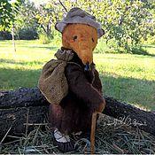 Куклы и игрушки ручной работы. Ярмарка Мастеров - ручная работа Лис Тедди Странник (резерв). Handmade.