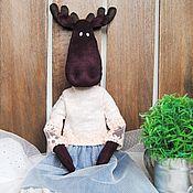 Куклы и игрушки ручной работы. Ярмарка Мастеров - ручная работа Лосик тильда. Handmade.