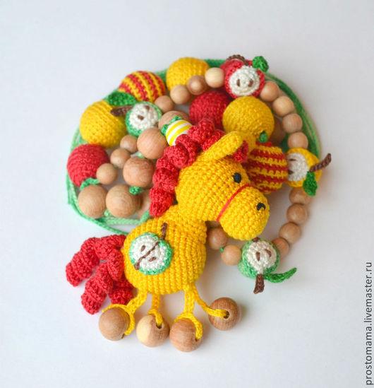 """Слингобусы ручной работы. Ярмарка Мастеров - ручная работа. Купить """"Кони в яблоках"""" слингобусы. Handmade. Слингобусы, подарок для малыша"""